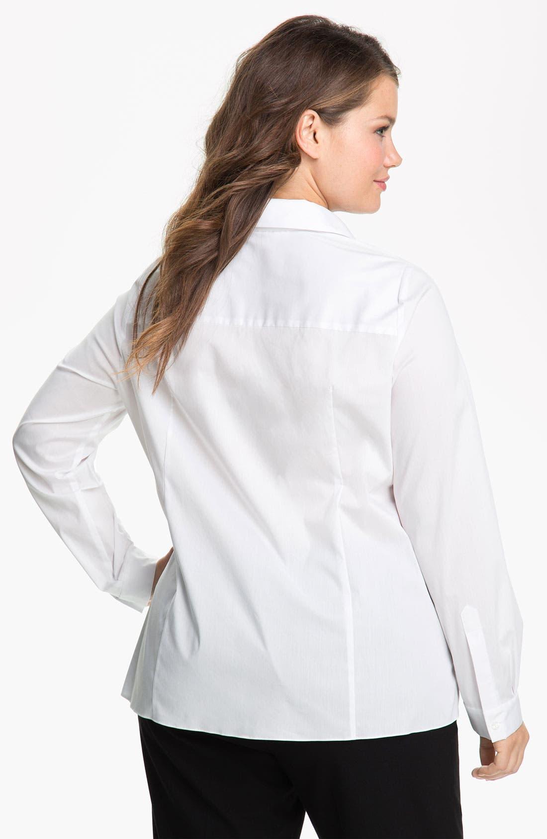 Alternate Image 2  - Tahari Woman 'Jaden' Shirt (Plus)