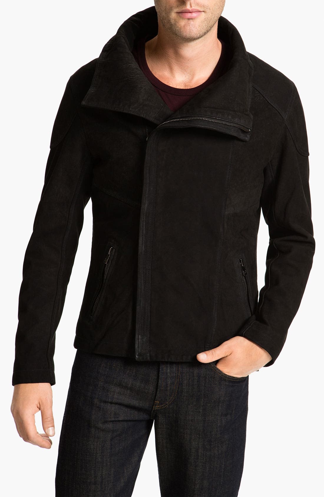 Alternate Image 1 Selected - Bod & Christensen Nubuck Jacket