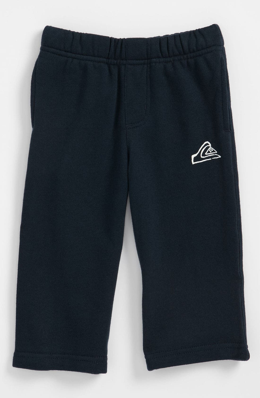 Alternate Image 1 Selected - Quiksilver 'Rest Stop' Fleece Pants (Infant)