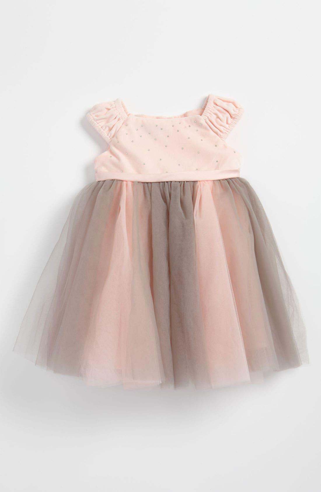 Alternate Image 1 Selected - Biscotti Tulle Ballerina Dress (Infant)
