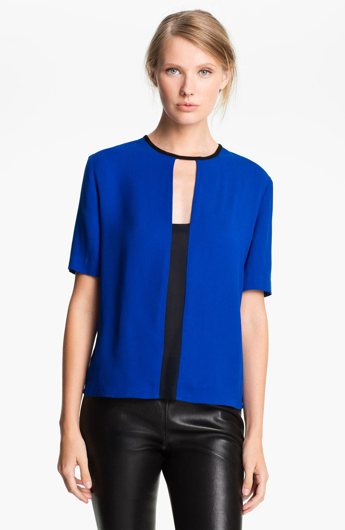 Alternate Image 1 Selected - A.L.C. Colorblock Blouse