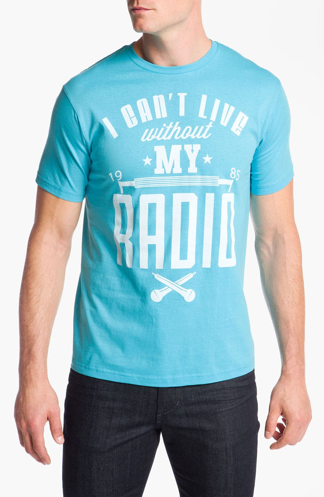 Alternate Image 1 Selected - SLU 'Can't Live Without My Radio' T-Shirt