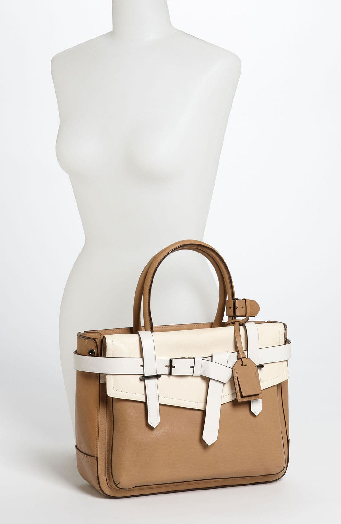 Alternate Image 2  - Reed Krakoff 'Boxer' Tricolor Leather Satchel