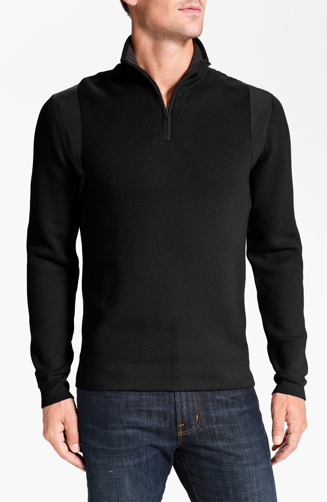 Alternate Image 1 Selected - Victorinox Swiss Army® 'Traveler' Quarter Zip Sweater (Online Exclusive)