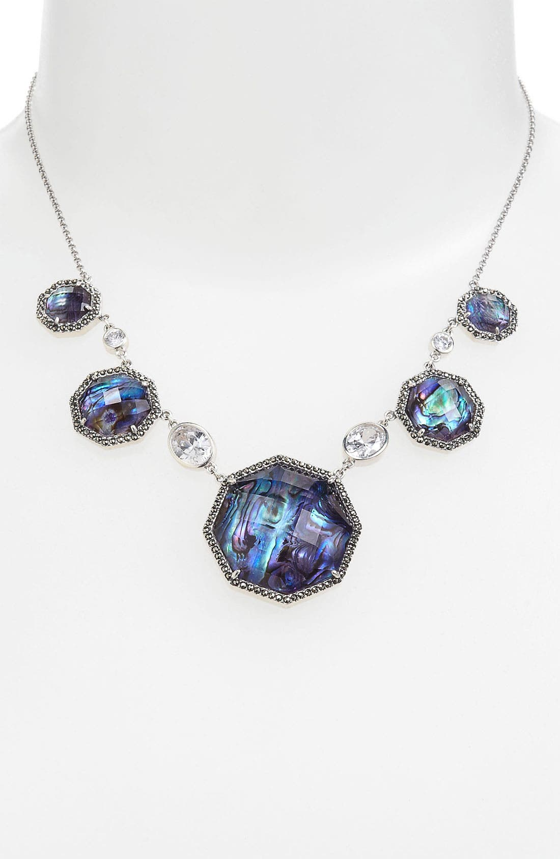 Alternate Image 1 Selected - Judith Jack Abalone Frontal Necklace