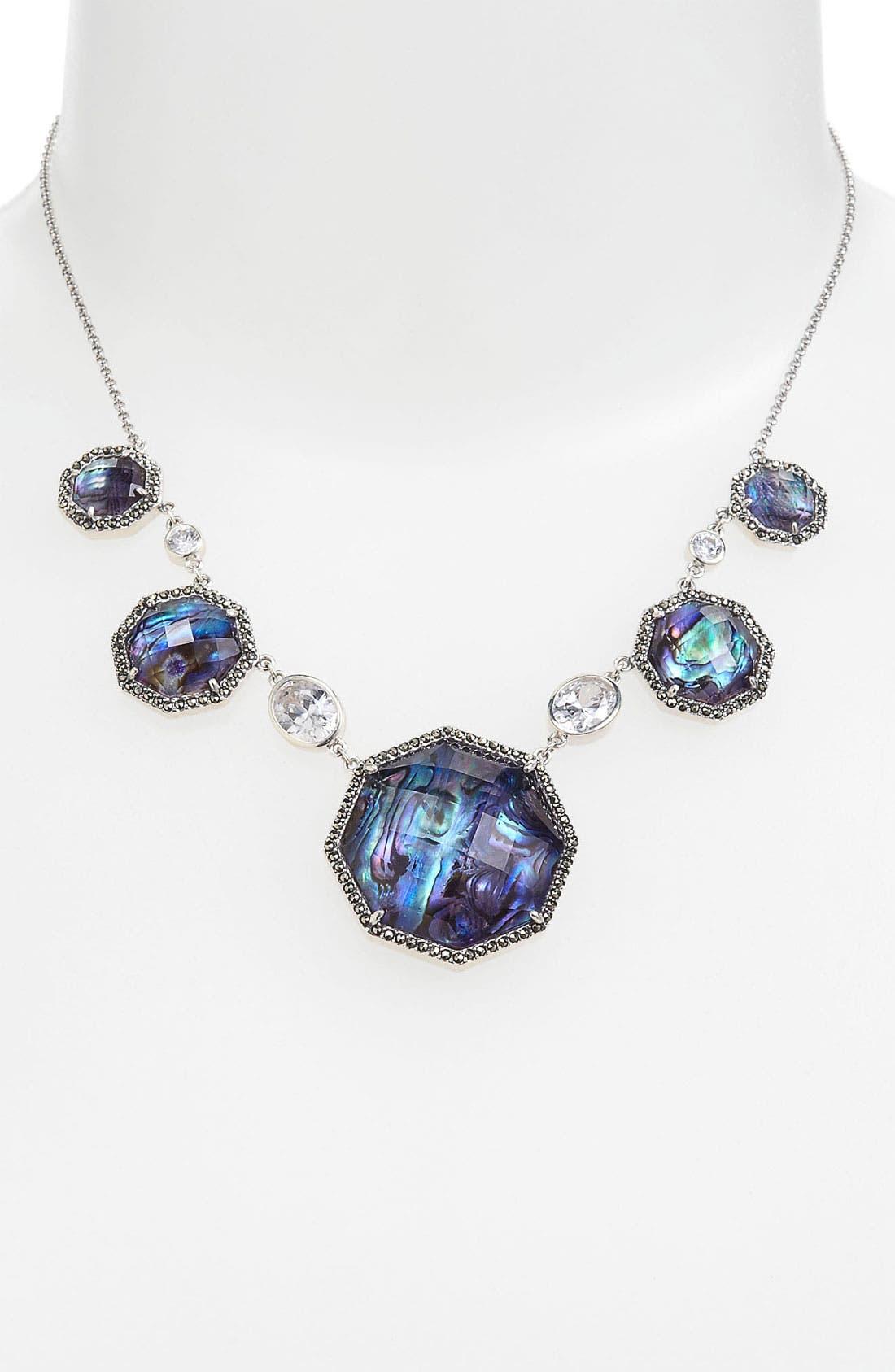 Main Image - Judith Jack Abalone Frontal Necklace