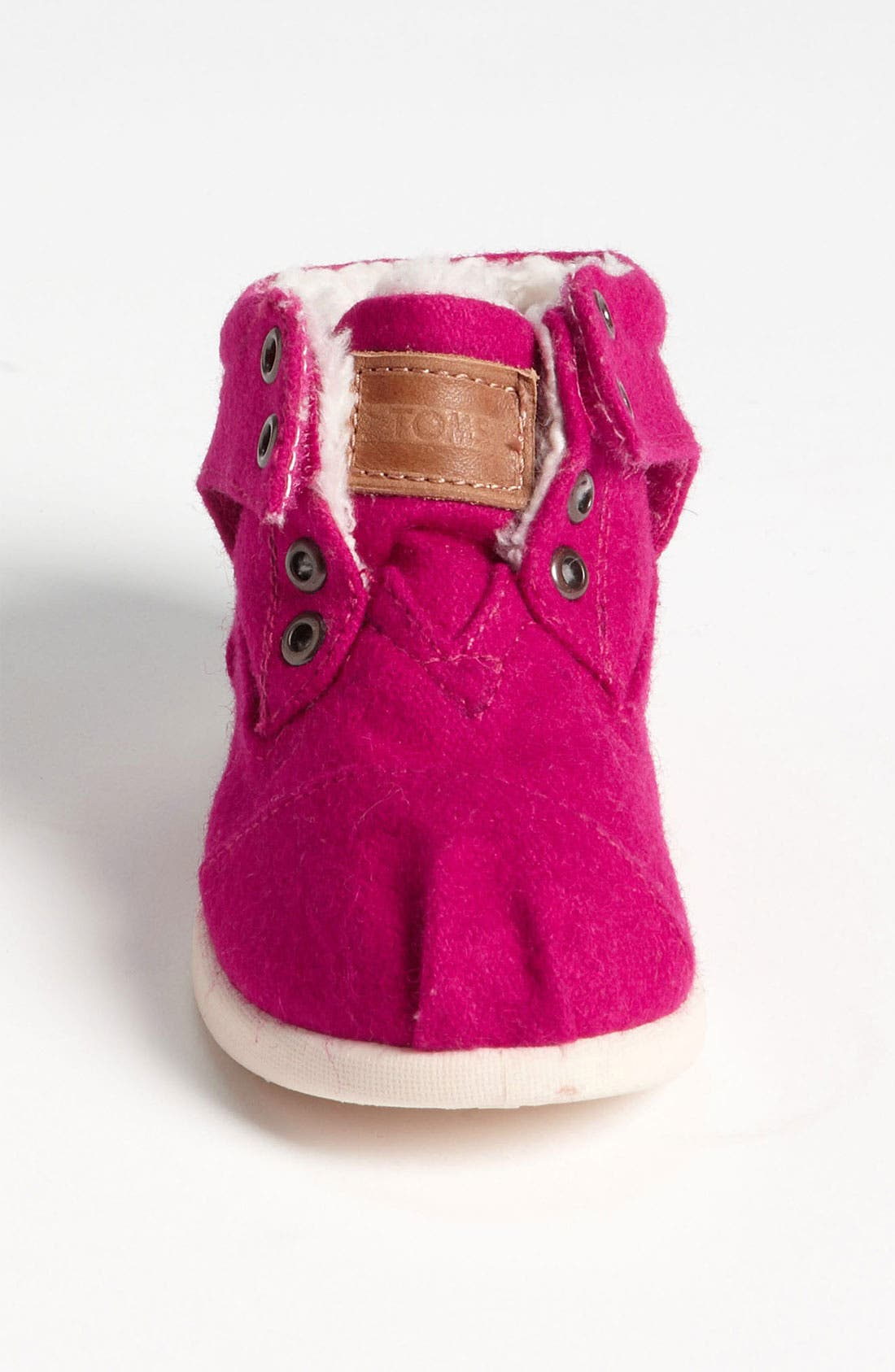 Alternate Image 3  - TOMS 'Botas - Tiny' Wool Boot (Baby, Walker, Toddler)
