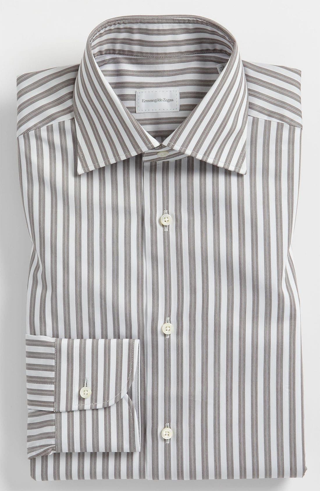 Alternate Image 1 Selected - Ermenegildo Zegna Regular Fit Dress Shirt