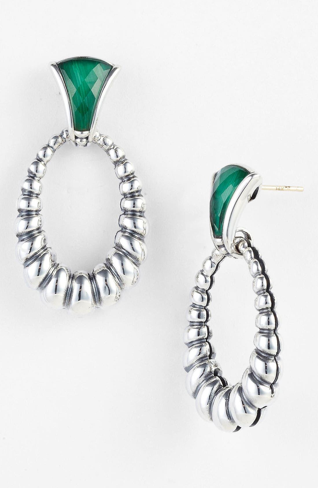 Alternate Image 1 Selected - LAGOS Frontal Hoop Earrings