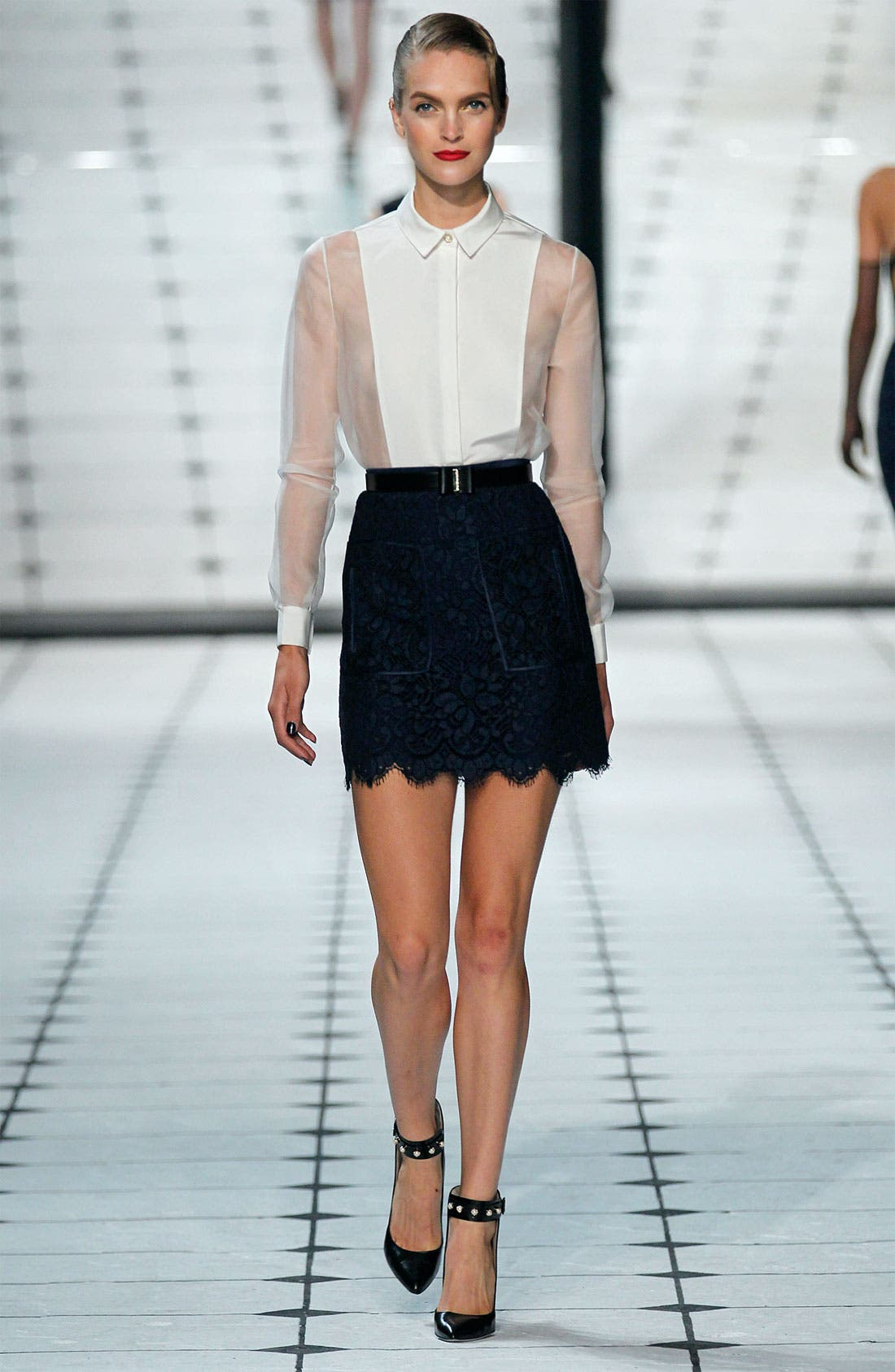Alternate Image 3  - Jason Wu Patch Pocket Lace Skirt