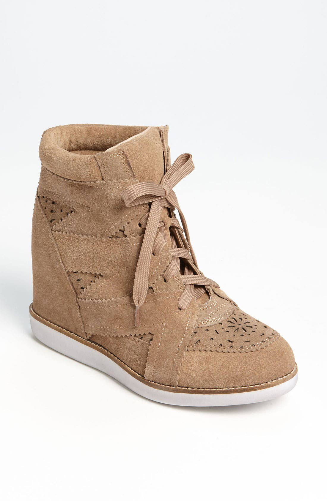 Alternate Image 1 Selected - Jeffrey Campbell 'Venice-Hi' Wedge Sneaker