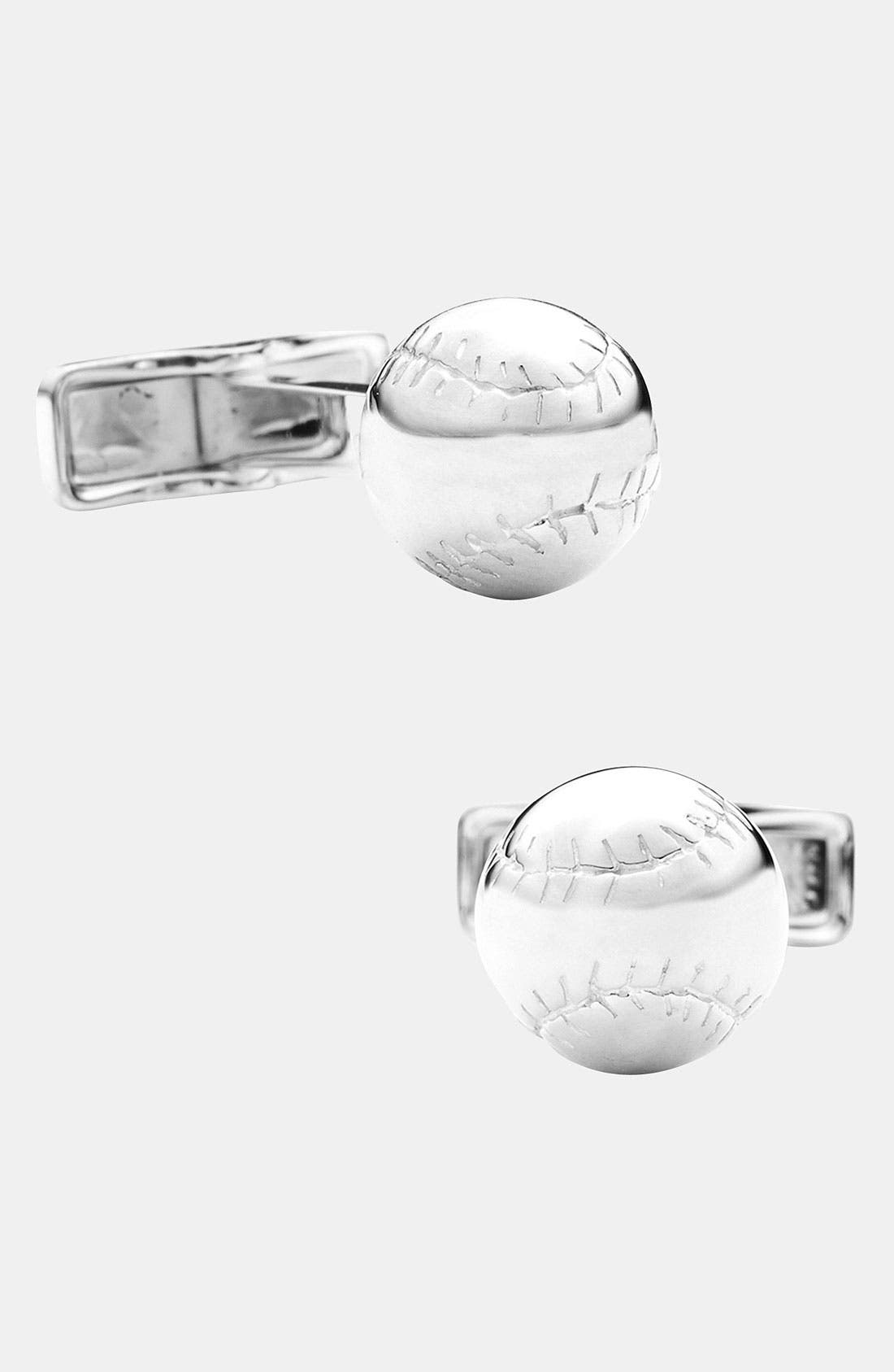Alternate Image 1 Selected - Ravi Ratan 'Baseball' Cuff Links