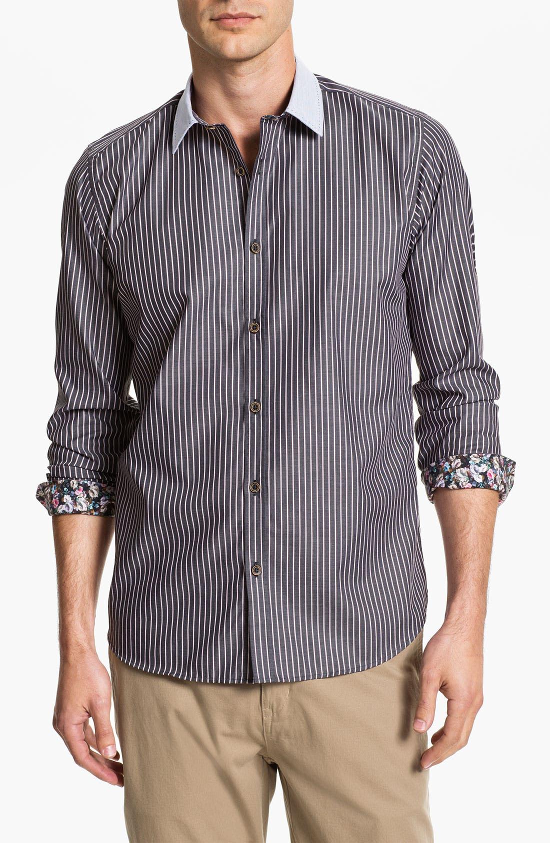 Alternate Image 1 Selected - Ted Baker London 'Asaigo' Sport Shirt