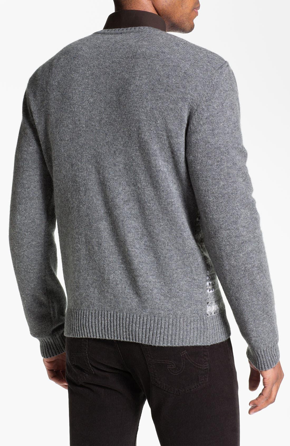 Alternate Image 2  - Fiesole Wool Blend V-Neck Sweater