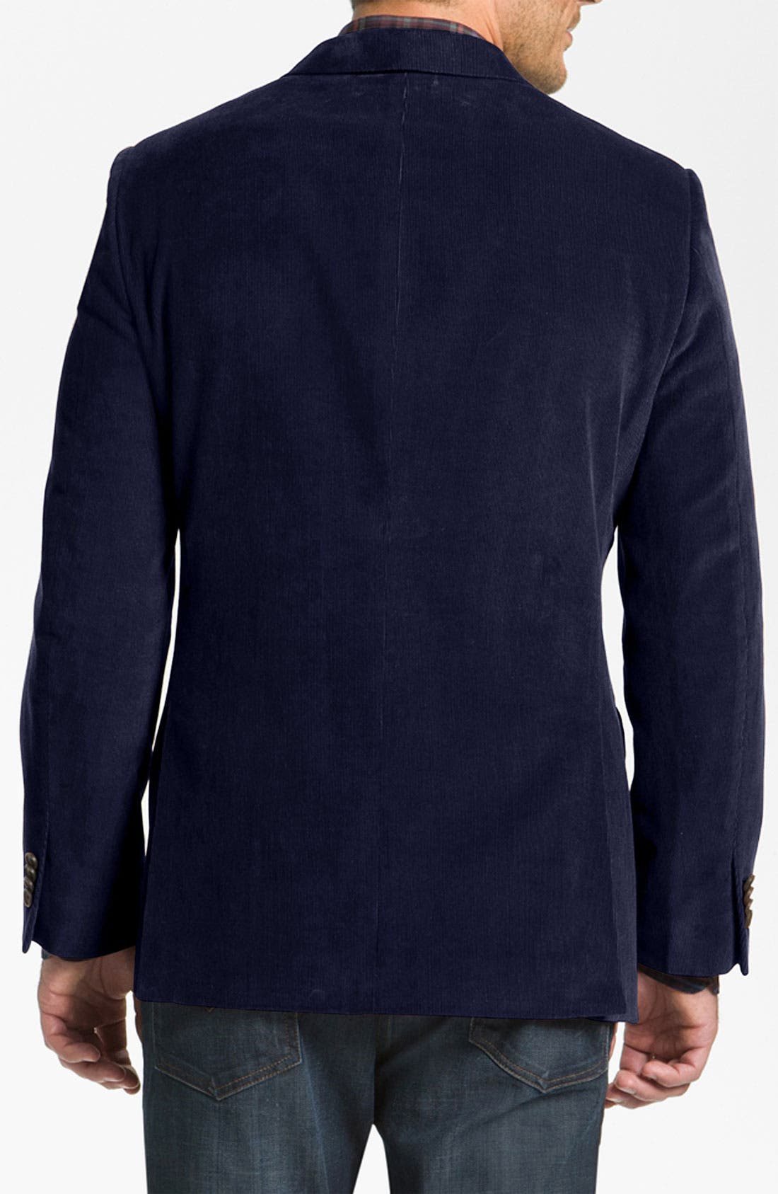 Alternate Image 2  - John W. Nordstrom® Cotton Cashmere Corduroy Blazer
