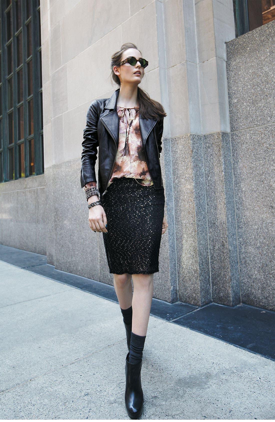 Alternate Image 4  - Bellatrix Embellished Cuff Blouse (Plus)