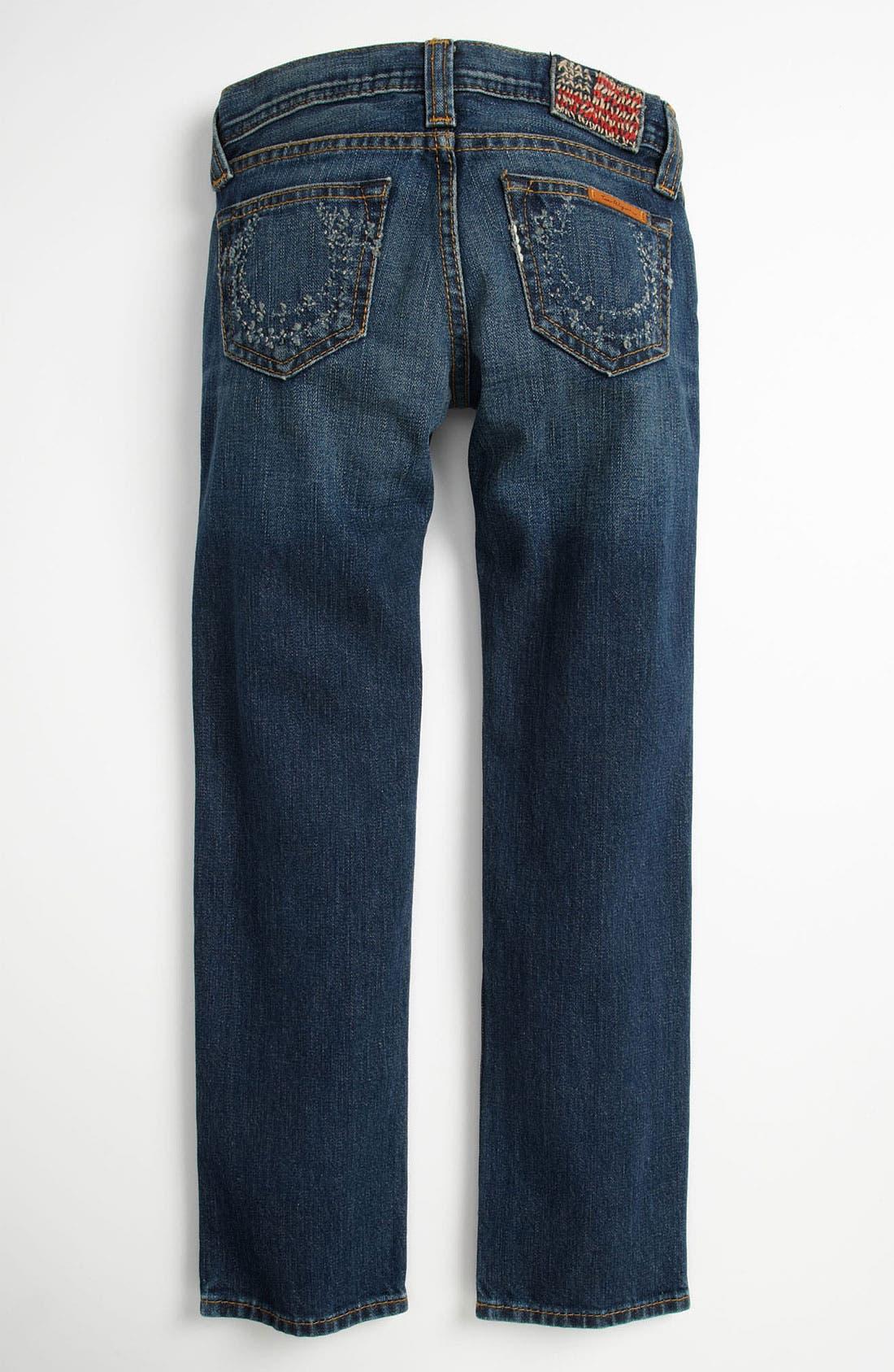 Alternate Image 1 Selected - True Religion Brand Jeans 'Rocco Phantom' Skinny Jeans (Big Boys)