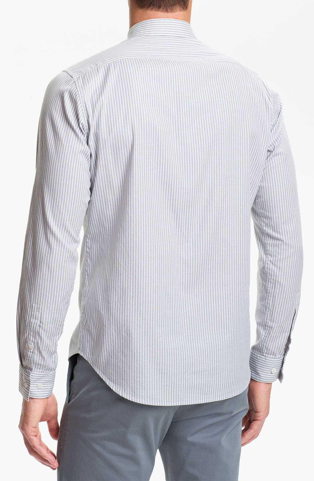 Alternate Image 2  - Theory 'Zack' Cotton Stretch Shirt