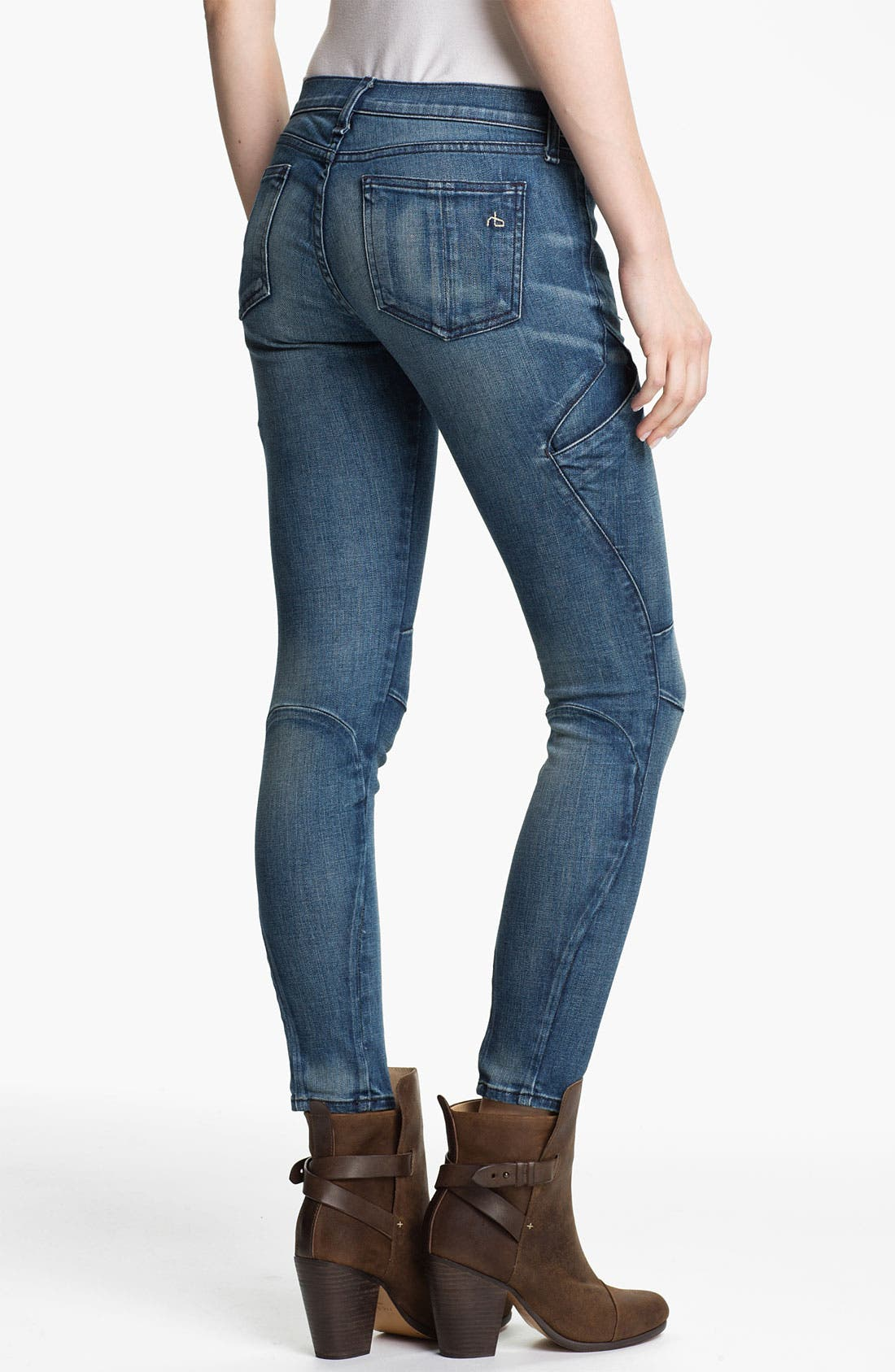 Alternate Image 1 Selected - rag & bone 'Rally' Cargo Skinny Stretch Jeans