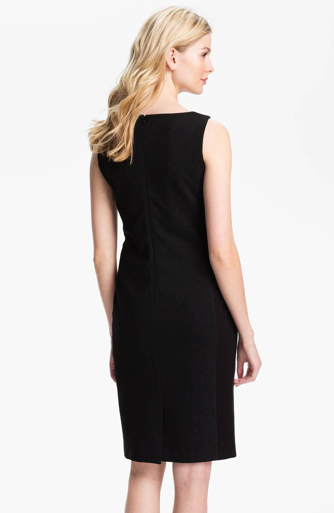 Alternate Image 2  - Eileen Fisher Ponte Sheath Dress