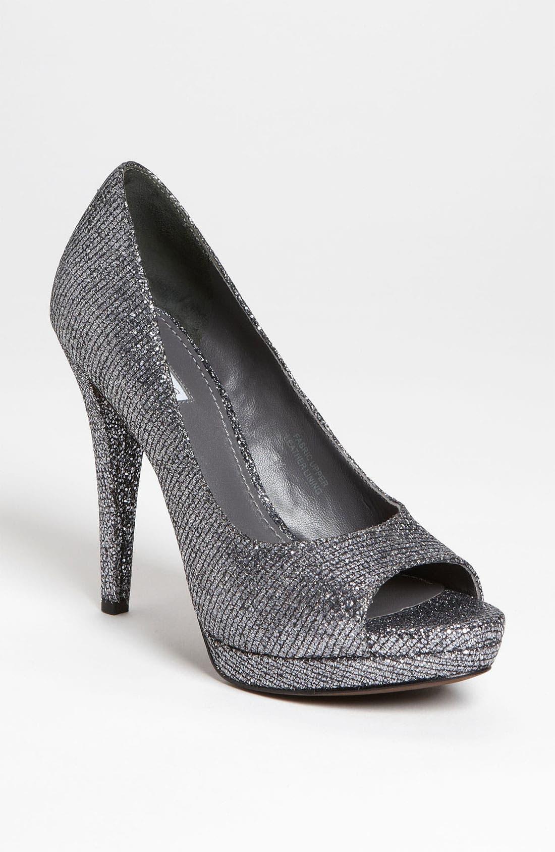Alternate Image 1 Selected - Vera Wang Footwear 'Selima' Peep Toe Pump