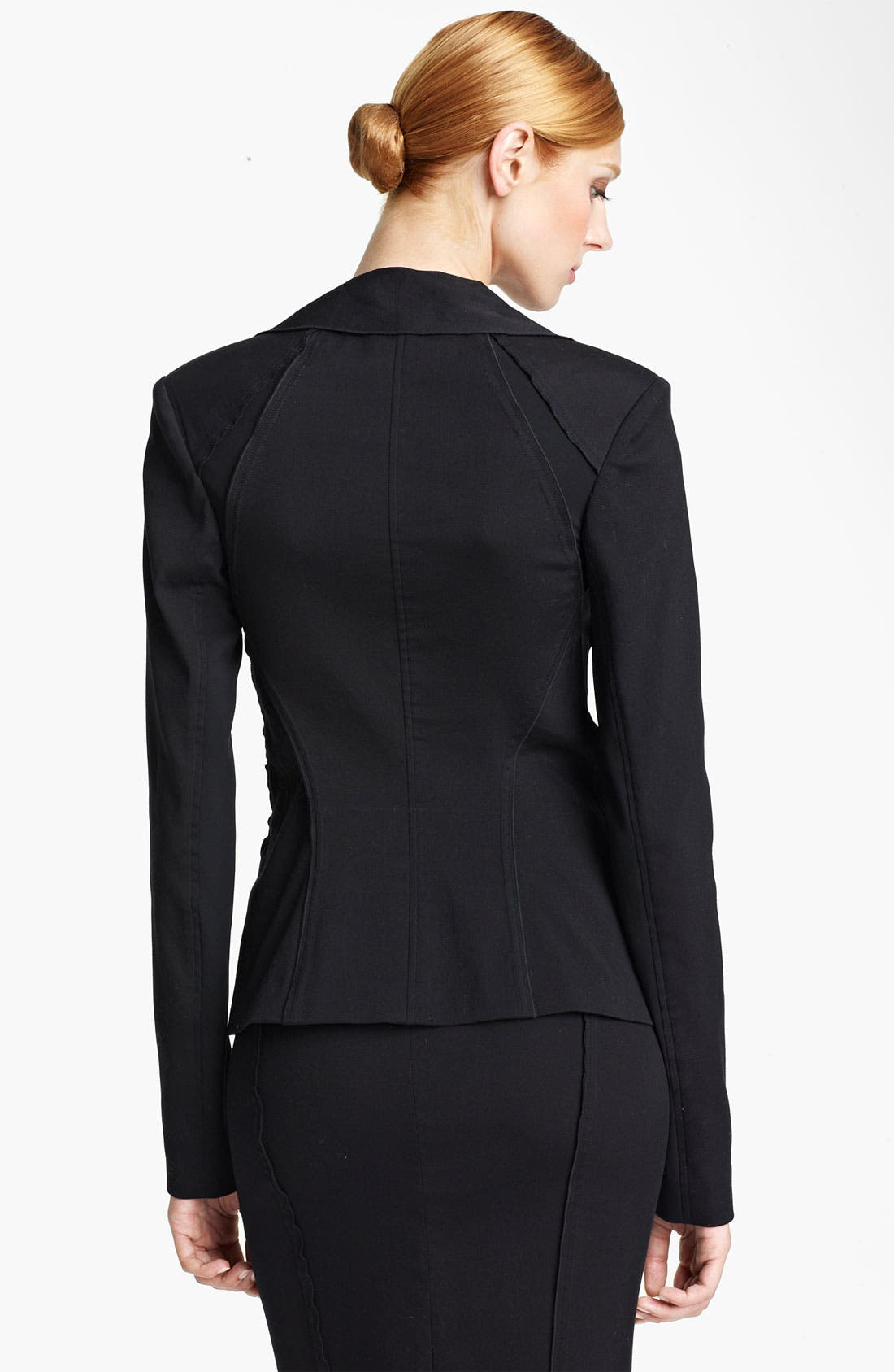 Alternate Image 2  - Donna Karan Collection Double Lapel Jacket
