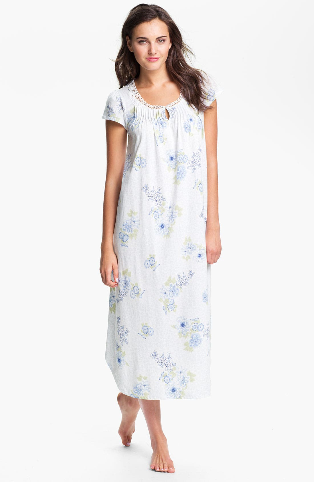 Alternate Image 1 Selected - Carole Hochman Designs Cotton Jersey Nightgown