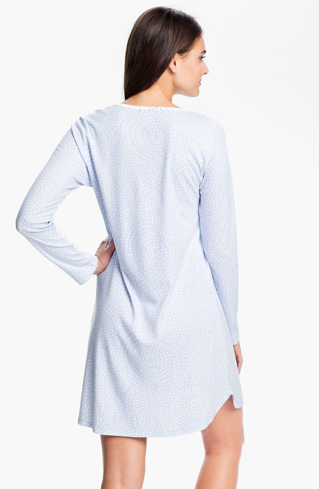Alternate Image 2  - Carole Hochman Designs Interlock Knit Sleep Shirt