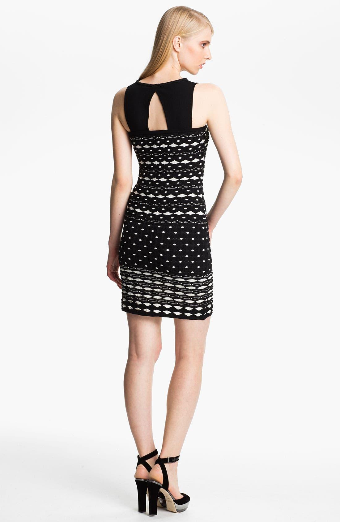 Alternate Image 2  - M Missoni Diamond Knit Tank Dress