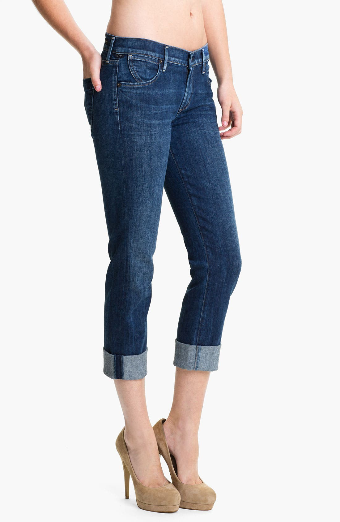Alternate Image 1 Selected - Citizens of Humanity 'Dani' Skinny Crop Jeans (Envy Navy)