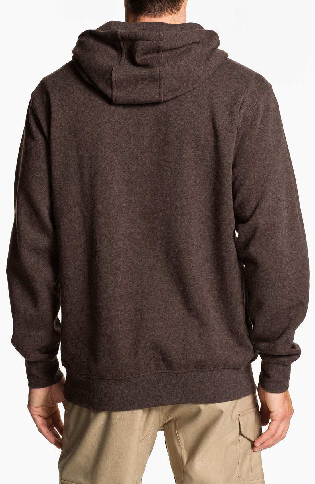 Alternate Image 2  - Burton 'Mountain Logo' Hoodie
