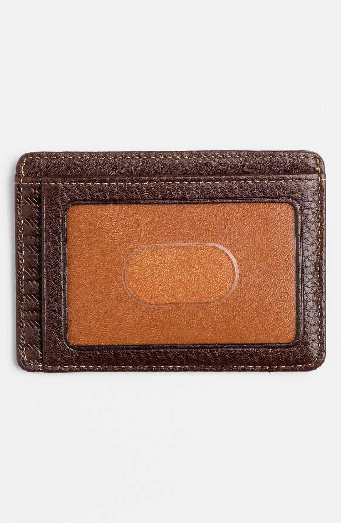 Alternate Image 2  - Boconi 'Terra Cotta' Card Case