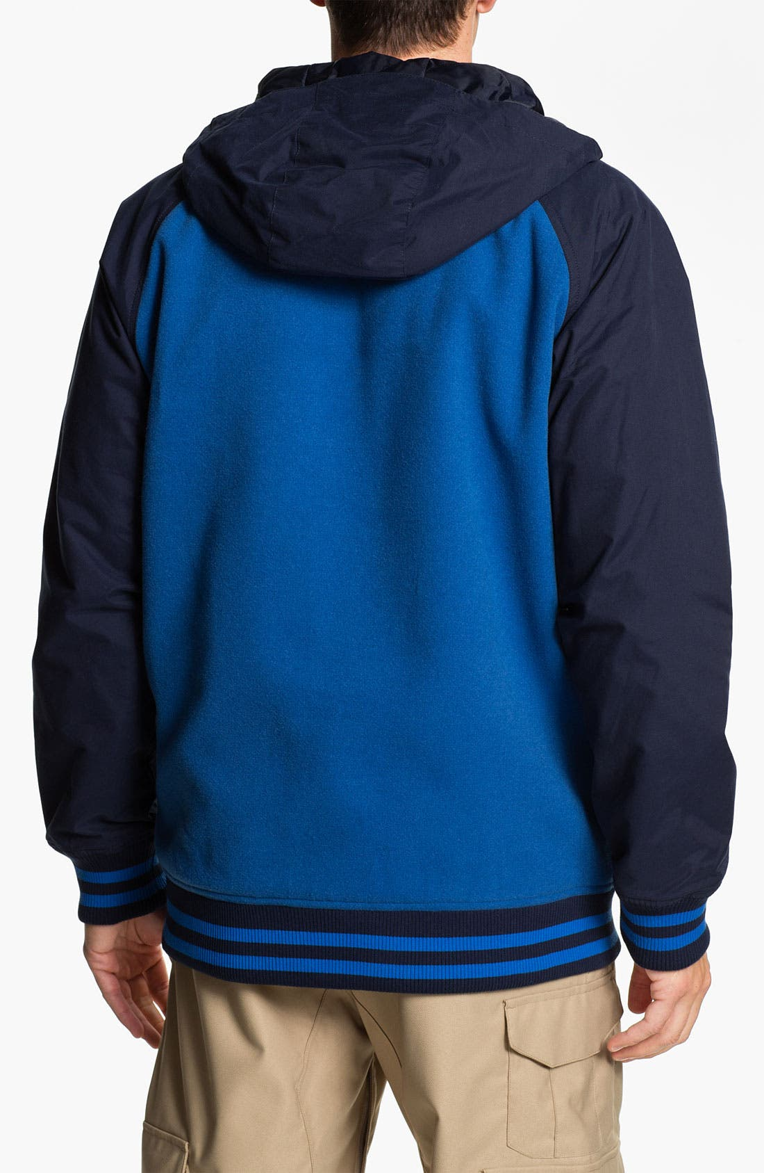 Alternate Image 2  - Burton 'B-Side' Varsity Jacket