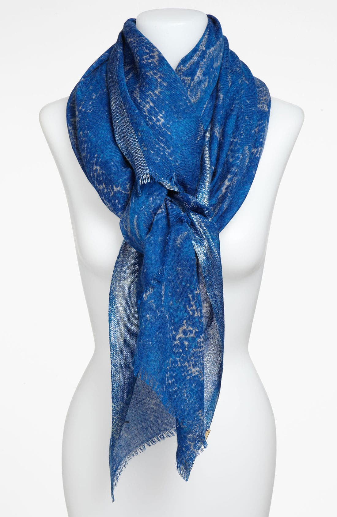 Main Image - Juicy Couture Python Print Wool Scarf