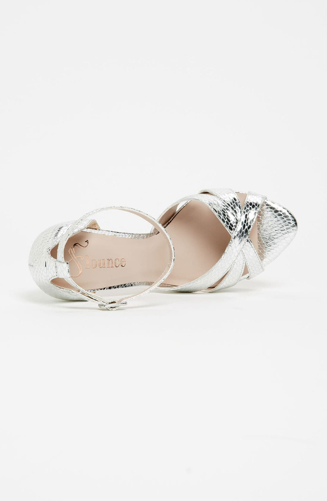 Alternate Image 3  - Flounce 'Blush' Ankle Strap Platform