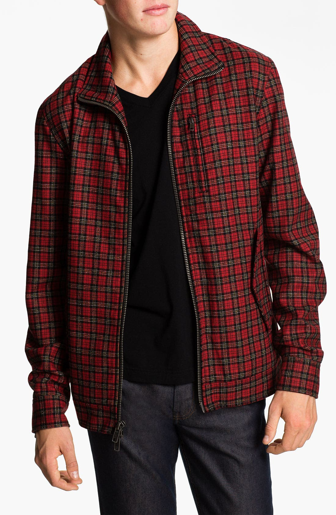 Main Image - MARC BY MARC JACOBS 'Chekov' Check Jacket