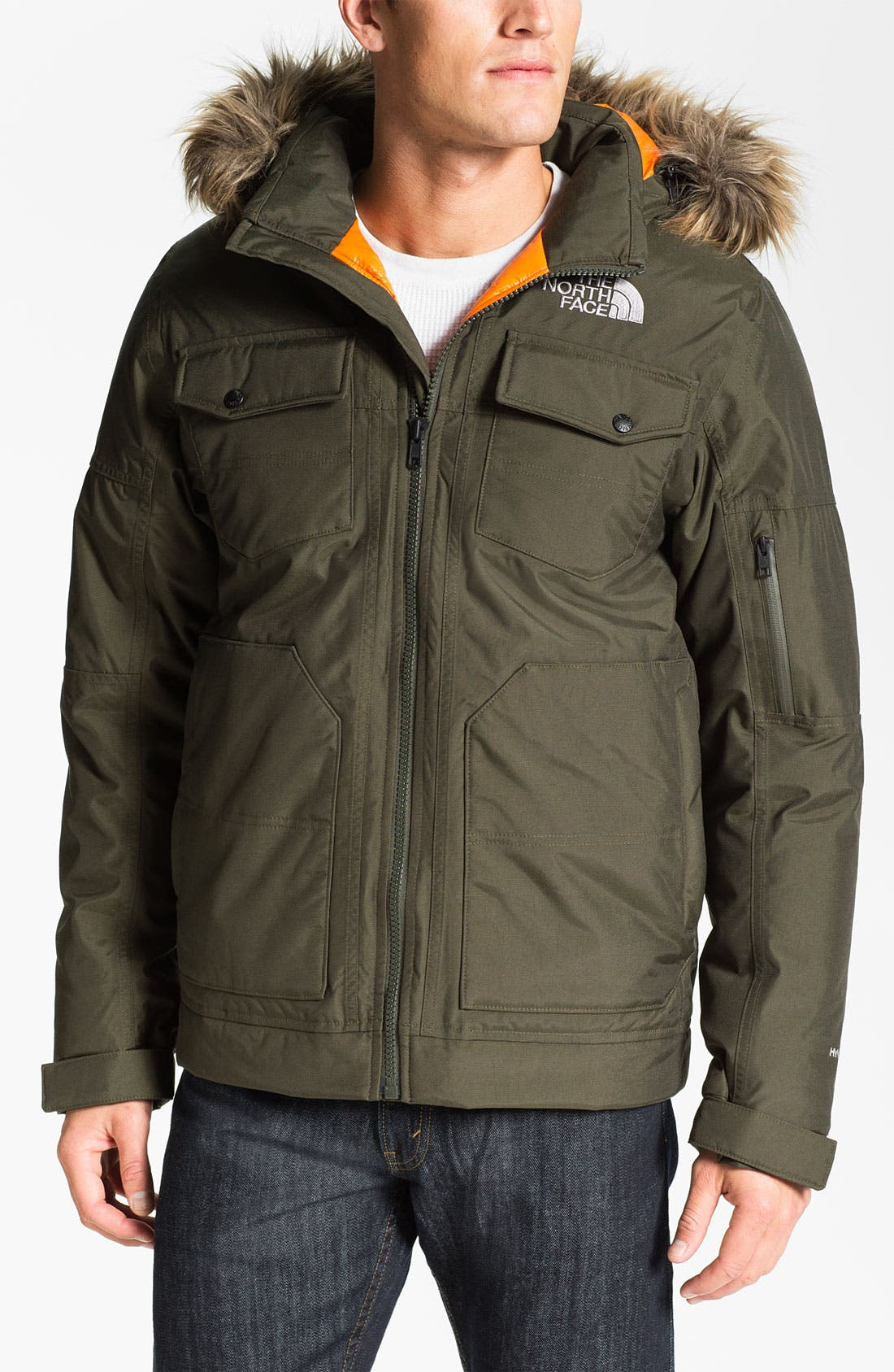 Alternate Image 1 Selected - The North Face 'Yellowband' Waterproof Parka