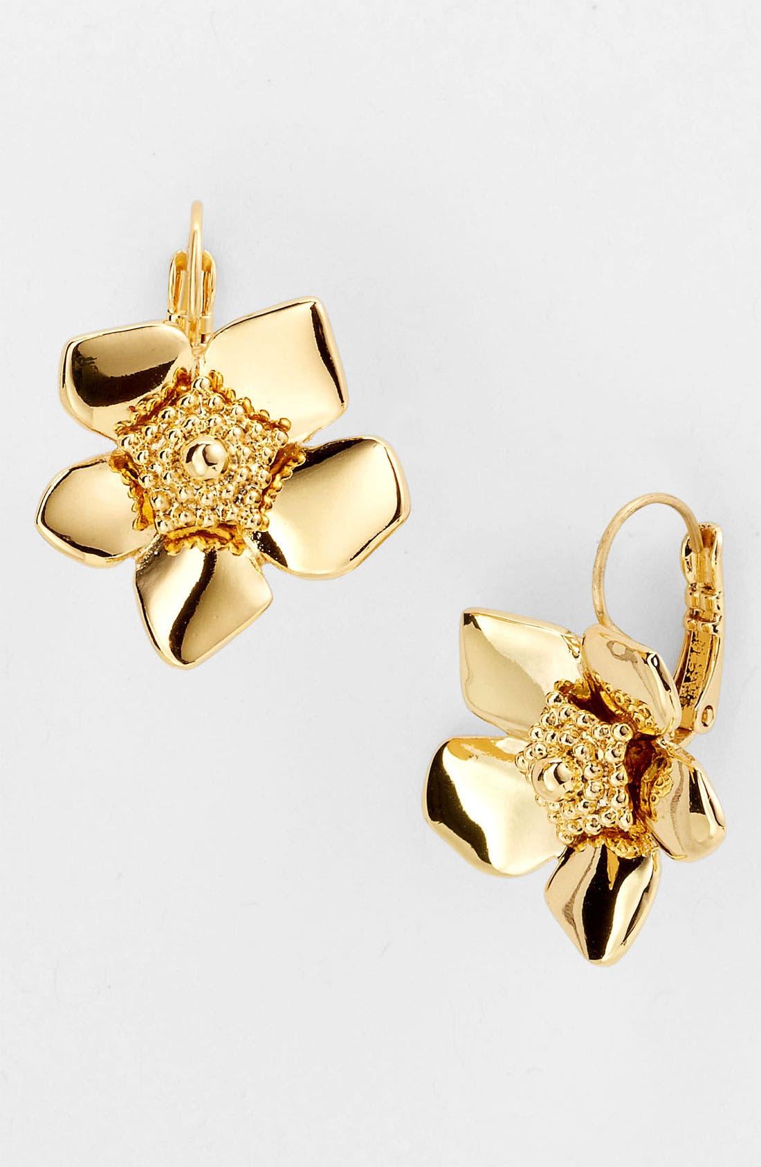 Main Image - kate spade new york 'bloomspot' drop earrings