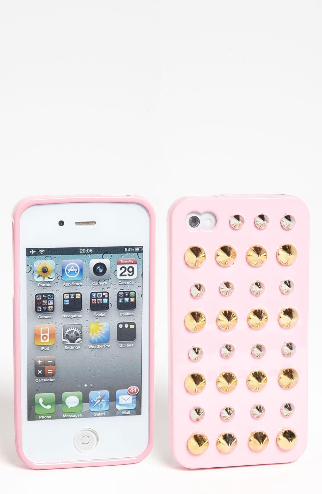 Main Image - Shine 32 Stud iPhone 4 & 4S Case