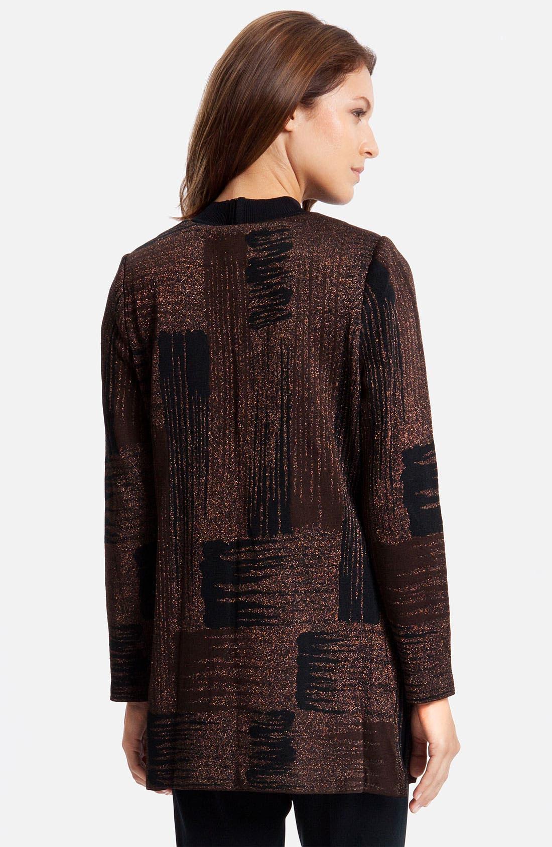 Alternate Image 2  - Ming Wang Long Jacket