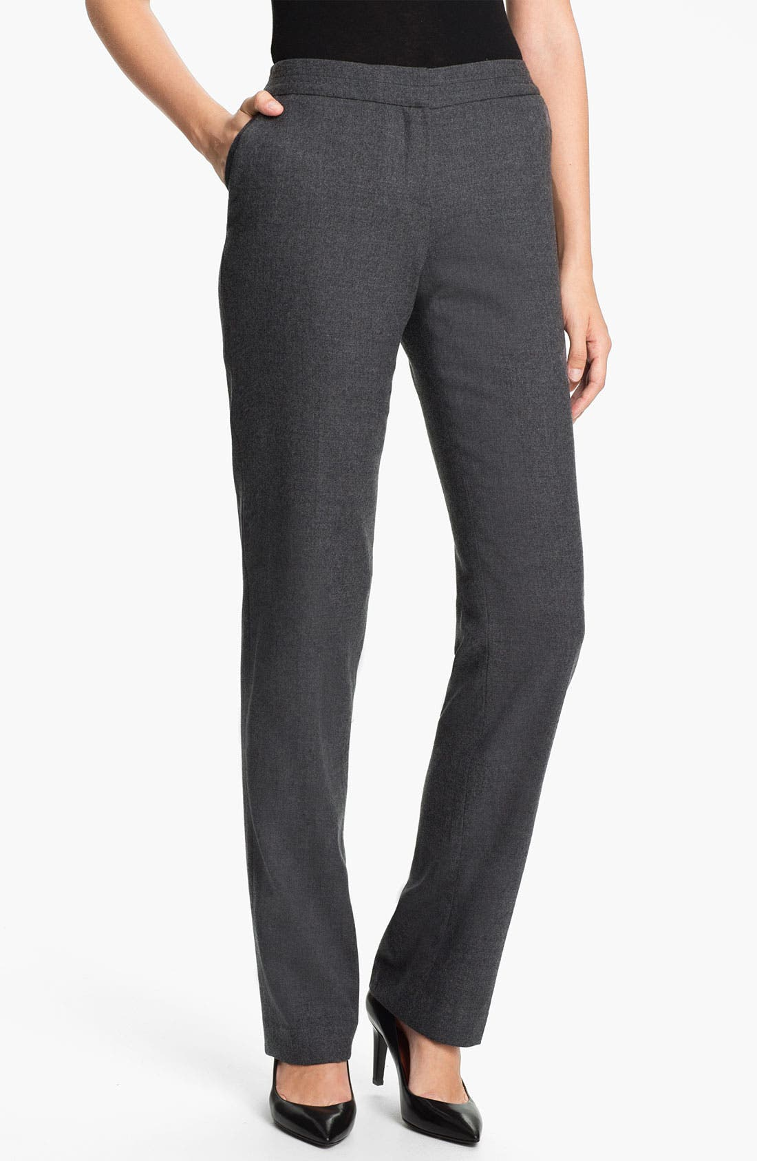 Alternate Image 1 Selected - Ted Baker London 'Neyoat' Straight Leg Trousers