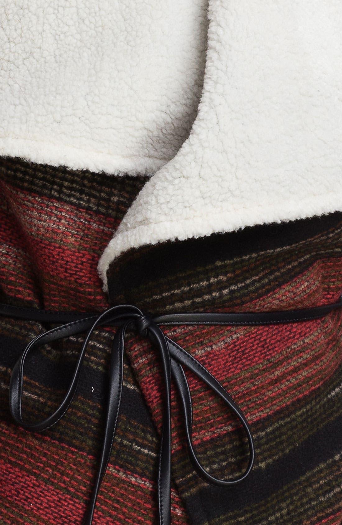 Alternate Image 3  - Jolt Southwestern Blanket Vest (Juniors)