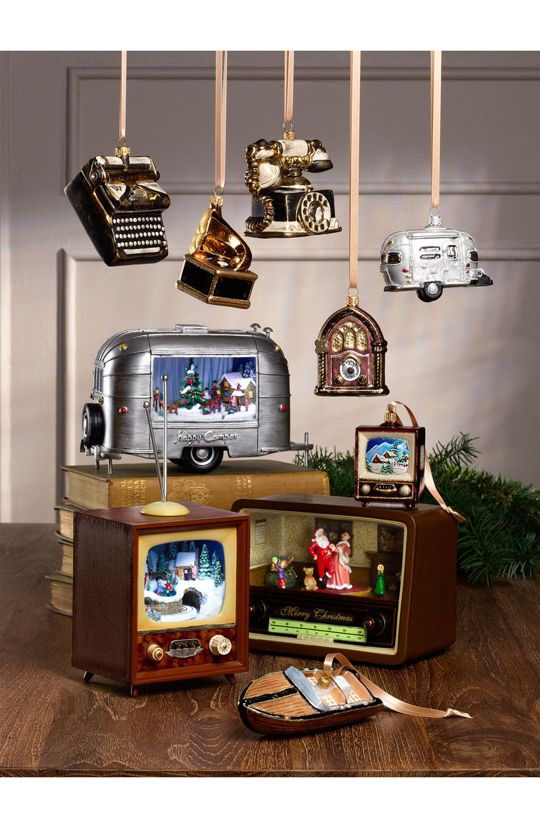 Alternate Image 2  - Nordstrom at Home 'Vintage Radio' Ornament