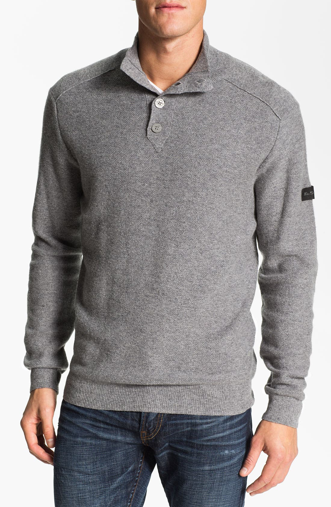Alternate Image 1 Selected - Ben Sherman Mock Neck Sweater