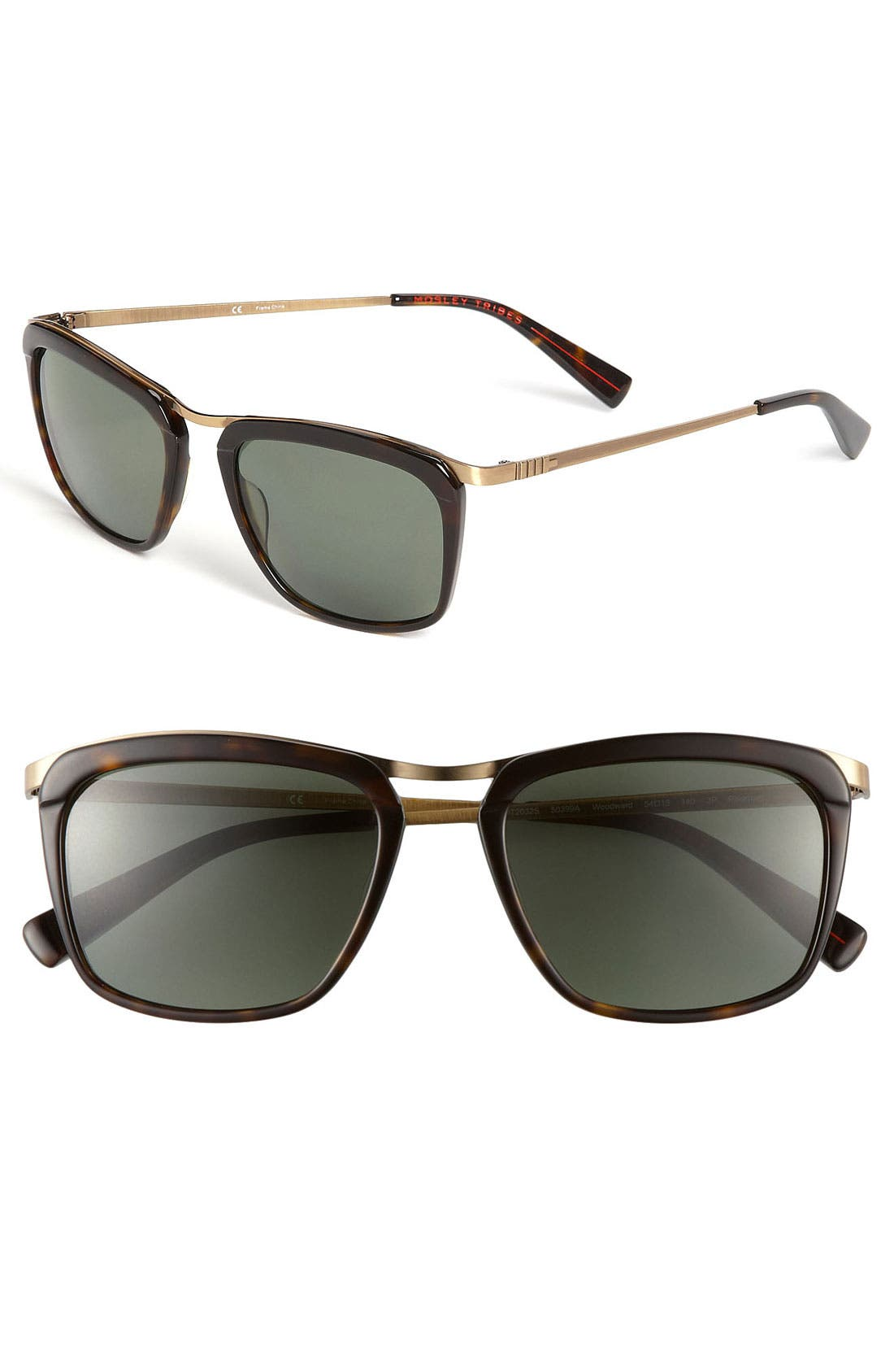 Alternate Image 1 Selected - Mosley Tribes 'Woodward' 54mm Sunglasses