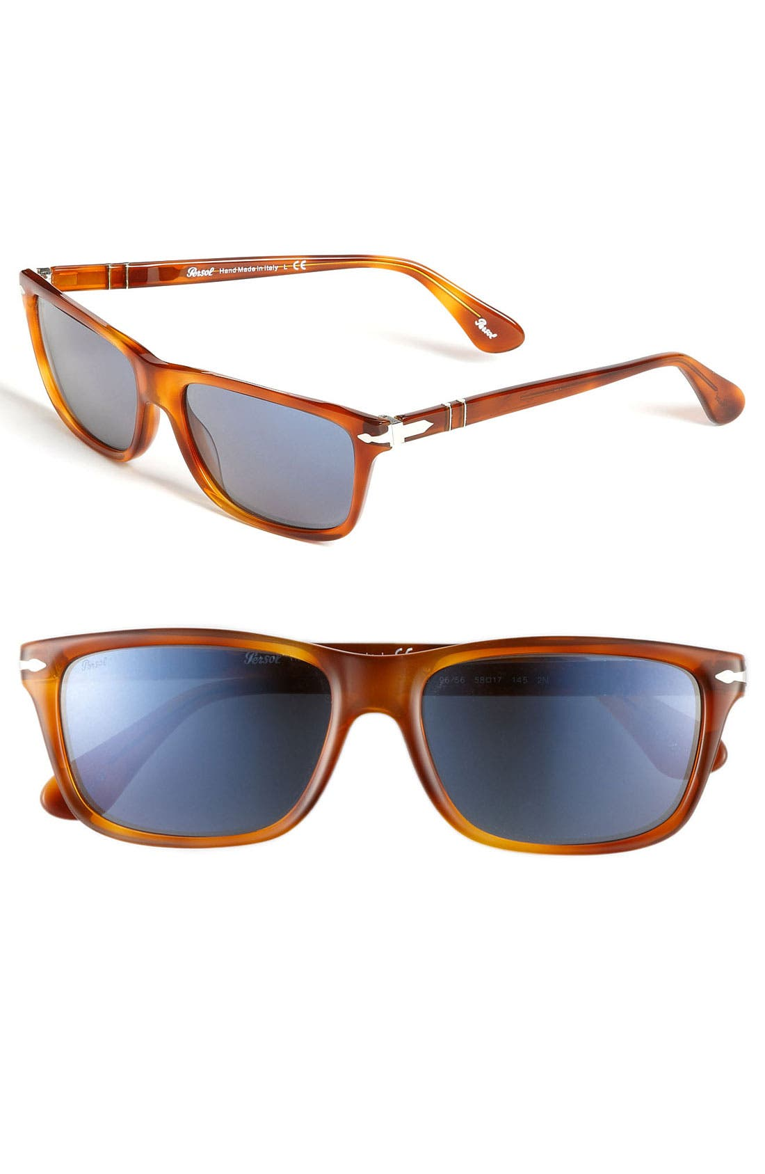 Main Image - Persol Rectangular Sunglasses