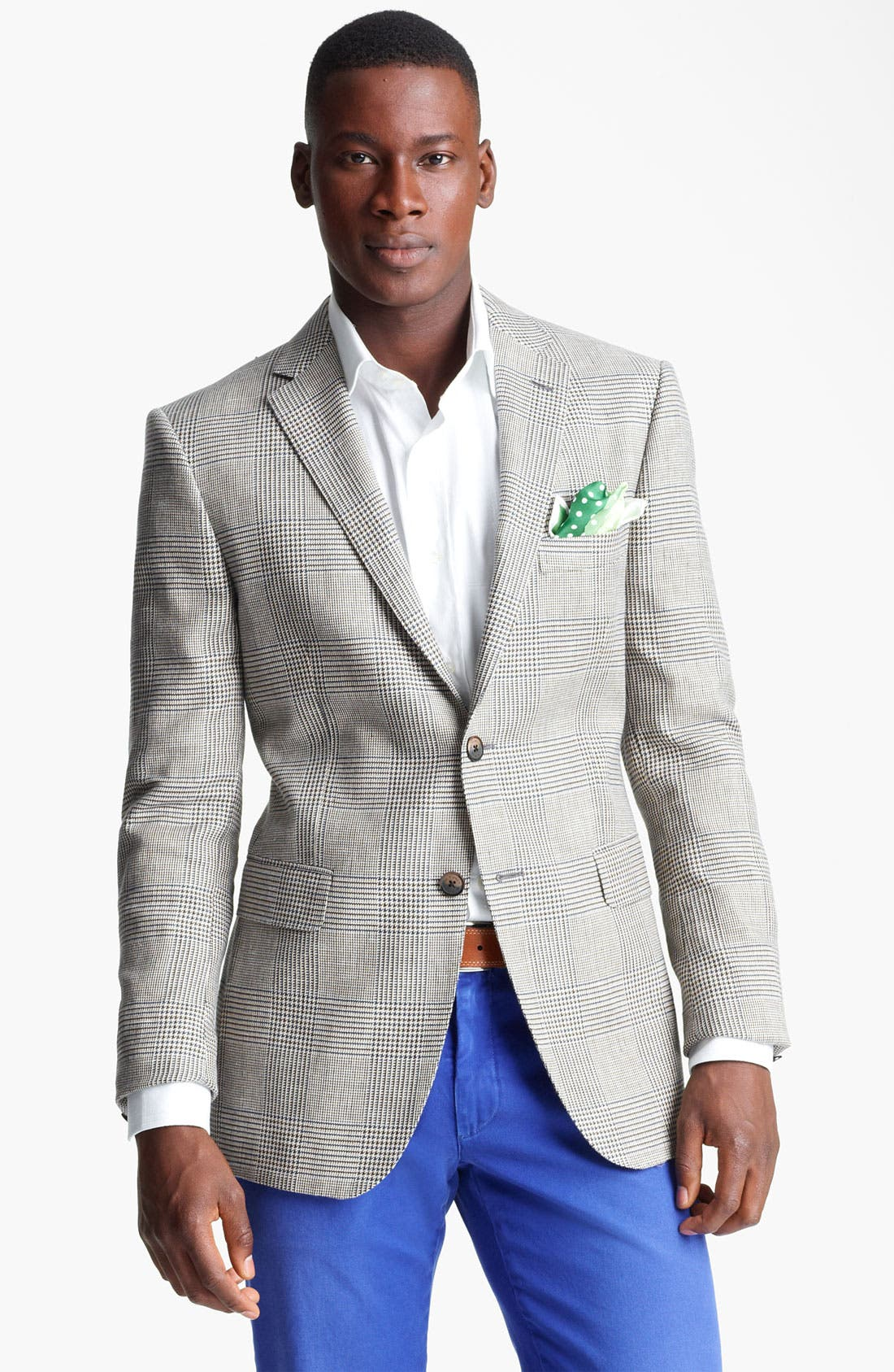Alternate Image 1 Selected - Etro Glen Plaid Sportcoat