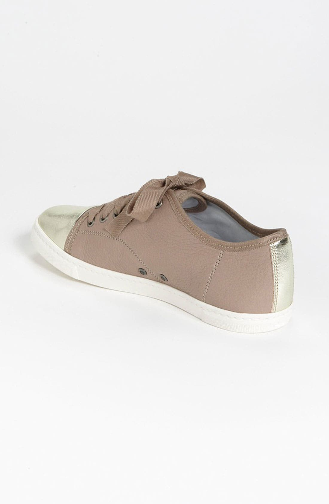 Alternate Image 2  - Lanvin Cap Toe Sneaker