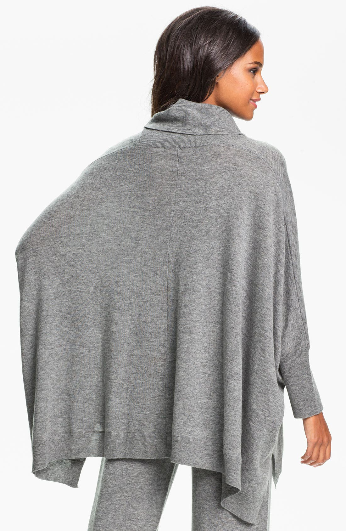Alternate Image 2  - Donna Karan 'Cozy' Sweater Knit Poncho