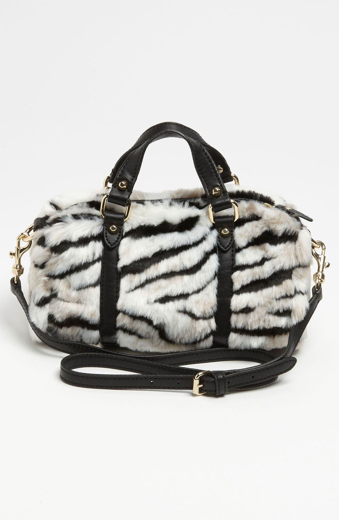 Alternate Image 4  - Juicy Couture 'Mini Steffy' Faux Fur Satchel (Girls)